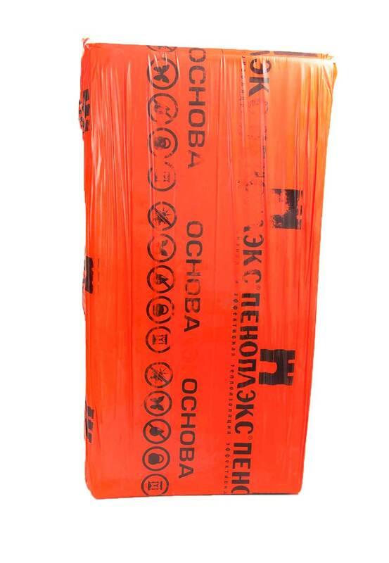 Экструдированный пенополистирол Пеноплекс Основа 30 мм (плита)